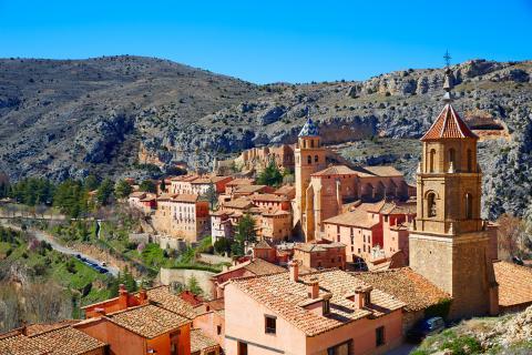 Curiosidad sobre Albarracín (Teruel)