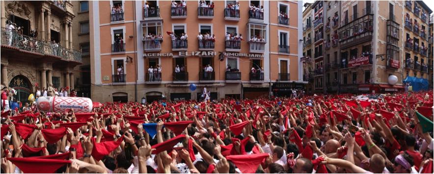 Comienzan las fiestas de San Fermín en Pamplona