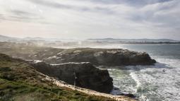 Mar de Galicia, costa de Galicia, paya, Acantilado.