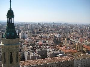 Panorámica de Zaragoza