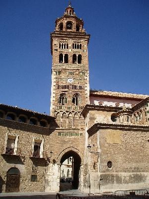 Vista de la torre (Teruel)