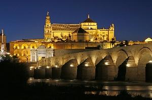 Vista de Córdoba por la noche