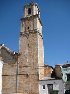 Campanario de l´Asunción del ayuntamiento de Salzadella