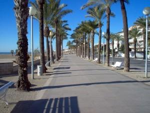 Paseo marítimo de Vilanova