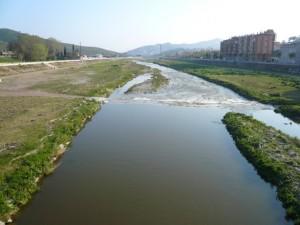 El río Besós en Moncada y Reixach