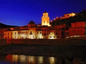 Ayuntamiento de Orihuela vista nocturna