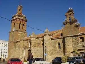 iglesia santa catalina talarrubias, badajoz