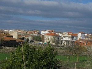plaza y ayuntamiento de Encinasola