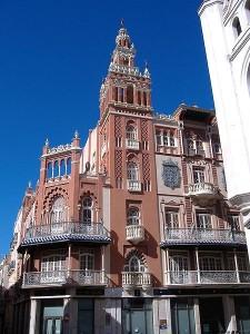 La Giraldilla, ayuntamiento de Badajoz