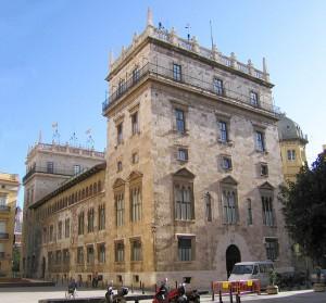 Palau generalitat, Ayuntamiento de Valencia