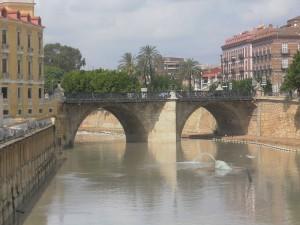 El Puente viejo del Ayuntamiento de  Murcia