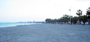 Playa de Las Palmeras en Los Alcázares
